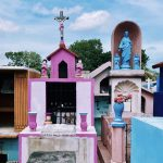 Totenschädel in Campeche